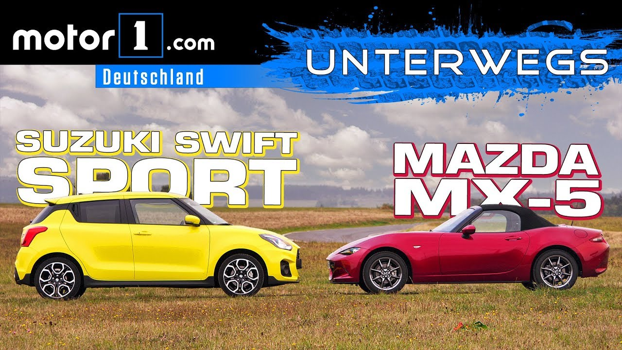 Suzuki Swift Sport vs. Mazda MX-5
