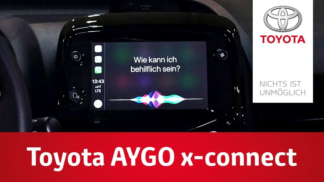 Toyota AYGO x-connect Smartphone Integration