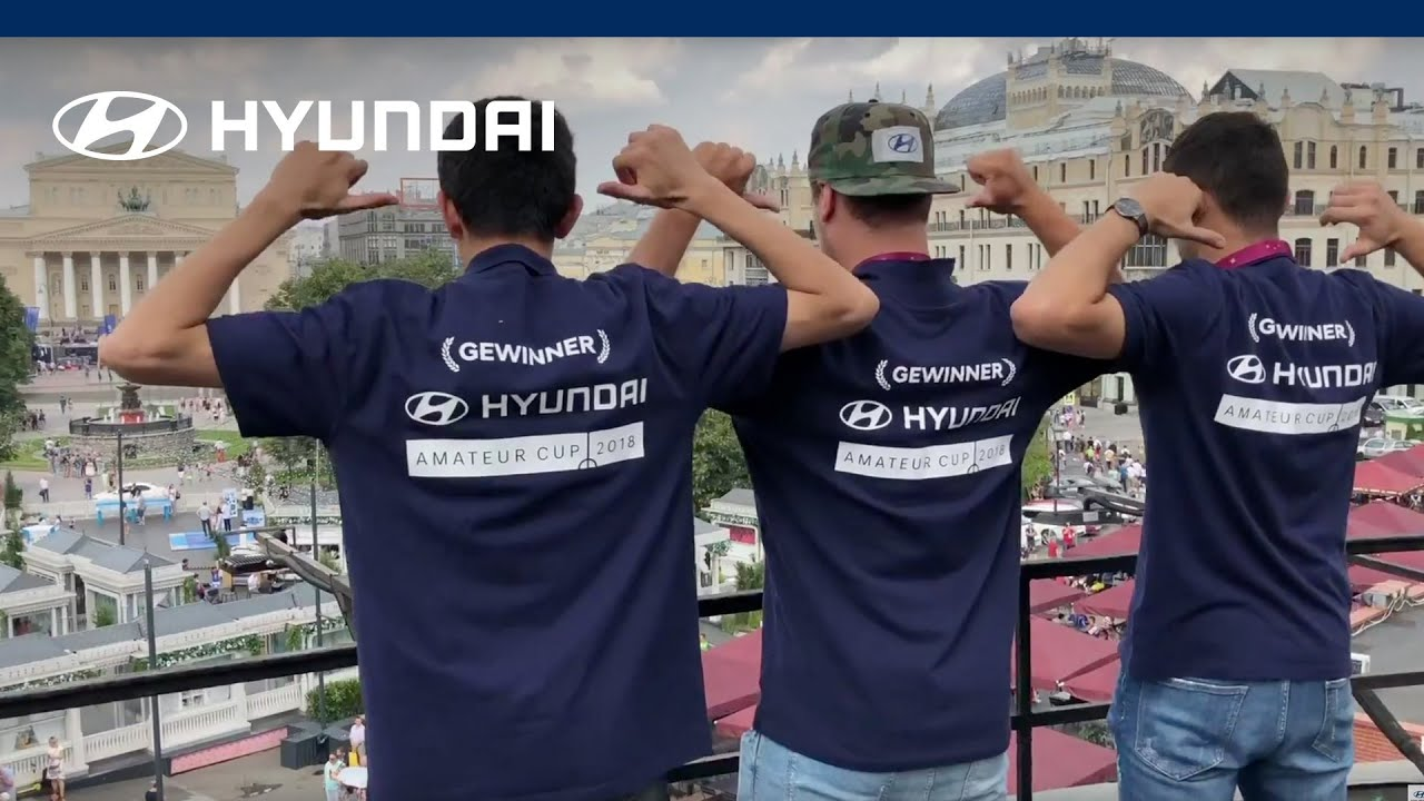 Hyundai Amateur Cup road to moscow