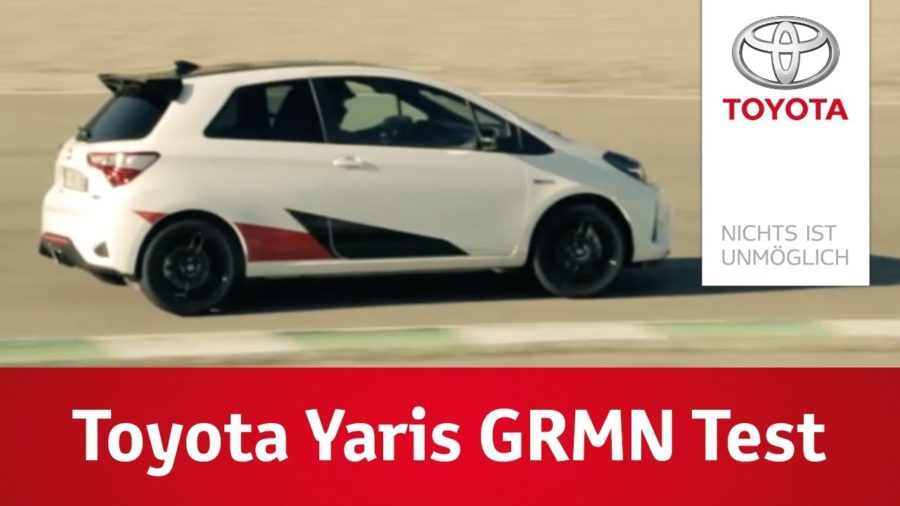 Toyota Yaris GRMN Test in Barcelona 1