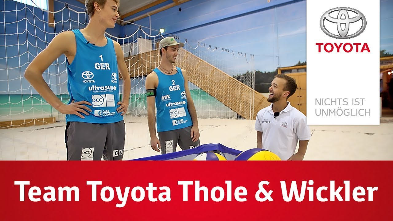 Weltmester Trifft Thole Team Toyota