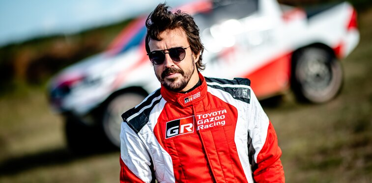 Fernando Alonso in Polen