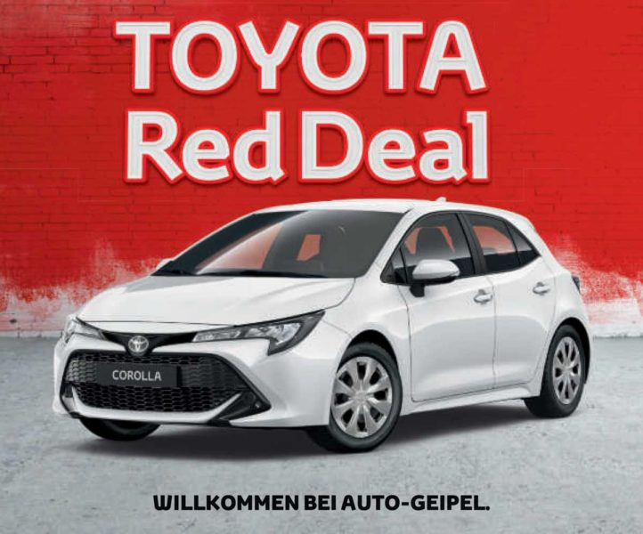 Toyota Red Deal Auto Geipel